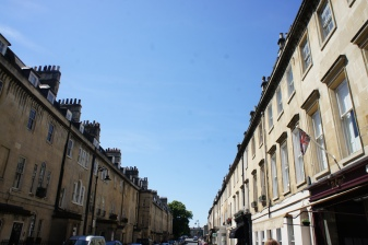 A typical street in Bath