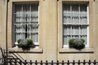 Georgian window front in Bath